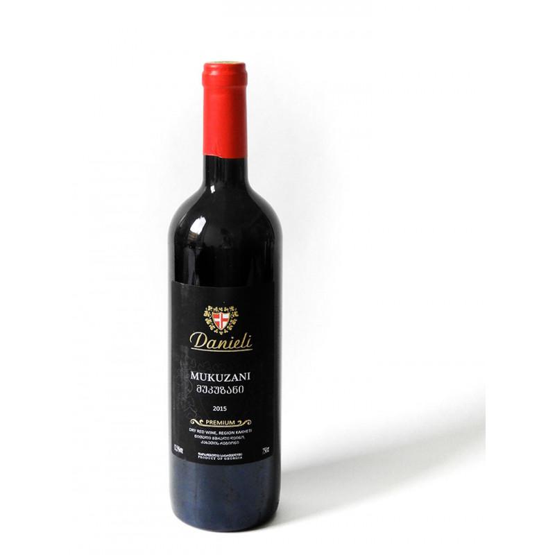 Danieli Mukuzani 2015 - Georgischer Rotwein 0,75l trocken