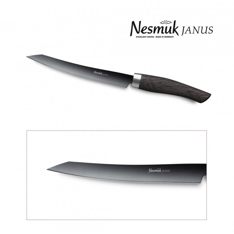NESMUK Janus Slicer 160-mm Klinge Mooreiche - Filetieren & Parieren
