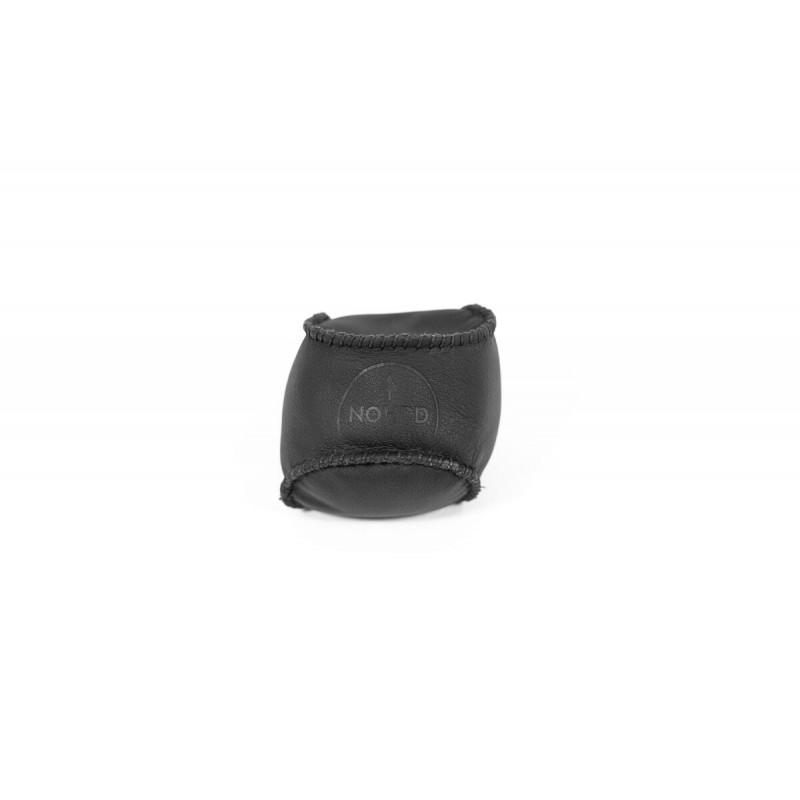 NOHrD HaptikBall 2100g schwarz - handgenähter Gewichtsball aus Leder, 17.112, 4260263014718