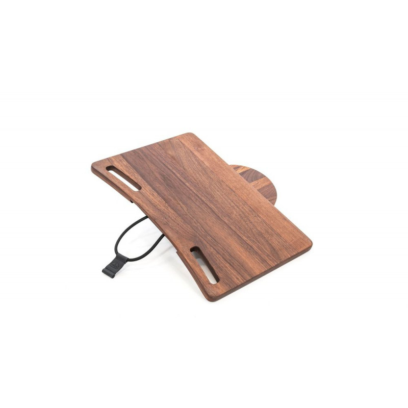 NOHrD Laptop Auflage Nussbaum für das NOHrD Bike, 22.213, 4260263015838
