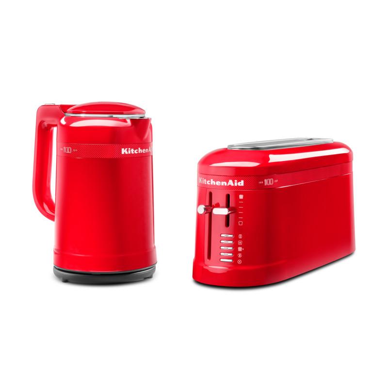 KitchenAid Loft Wasserkocher Toaster im Set rot Signature red 100Jahre Edition