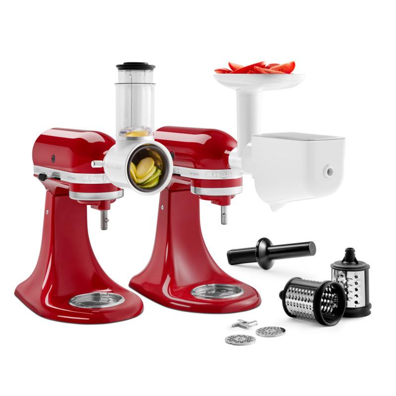 KitchenAid Fleischwolf + Gemüseschneider +Pürieraufsatz Set 5KSM2FPPC (Allgemeiner Artikel (EAN, Hersteller, Farbe, Form, Material))