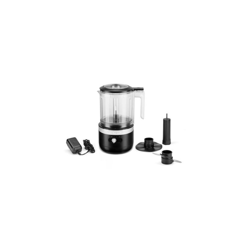 KitchenAid Kabelloser Zerkleinerer 1,2L matt schwarz, 5KFCB519EBM,859711600550