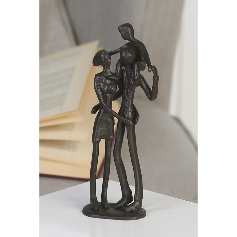 "Casablanca Skulptur ""Parents"" - Gusseisen, handcoloriert"