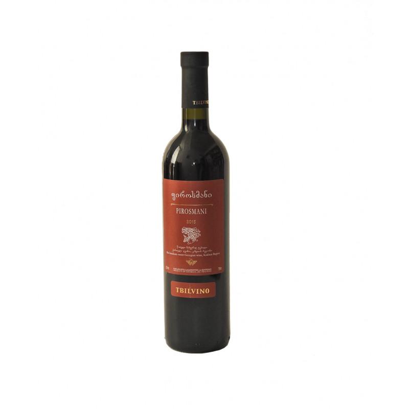 Tbilvino Pirosmani, lieblicher Rotwein 0,75 Liter Georgien