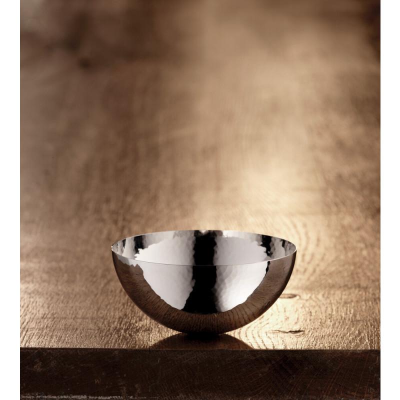 Robbe & Berking Martelé Schale 90g versilbert 10cm, glatter Rand, 06301543, 4044395241026