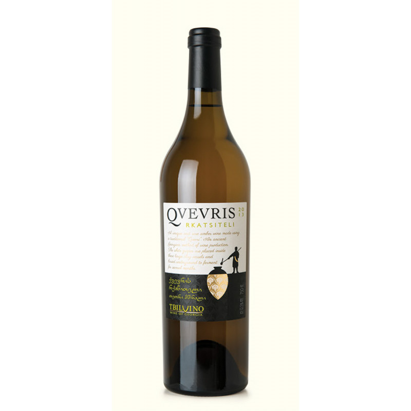 Qvevris Rkatsiteli, trockener georgischer Weißwein 0,75l
