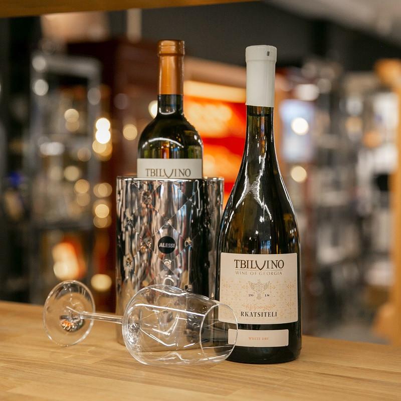 Tbilvino Rkatsiteli, trockener georgischer Weißwein 0,75l
