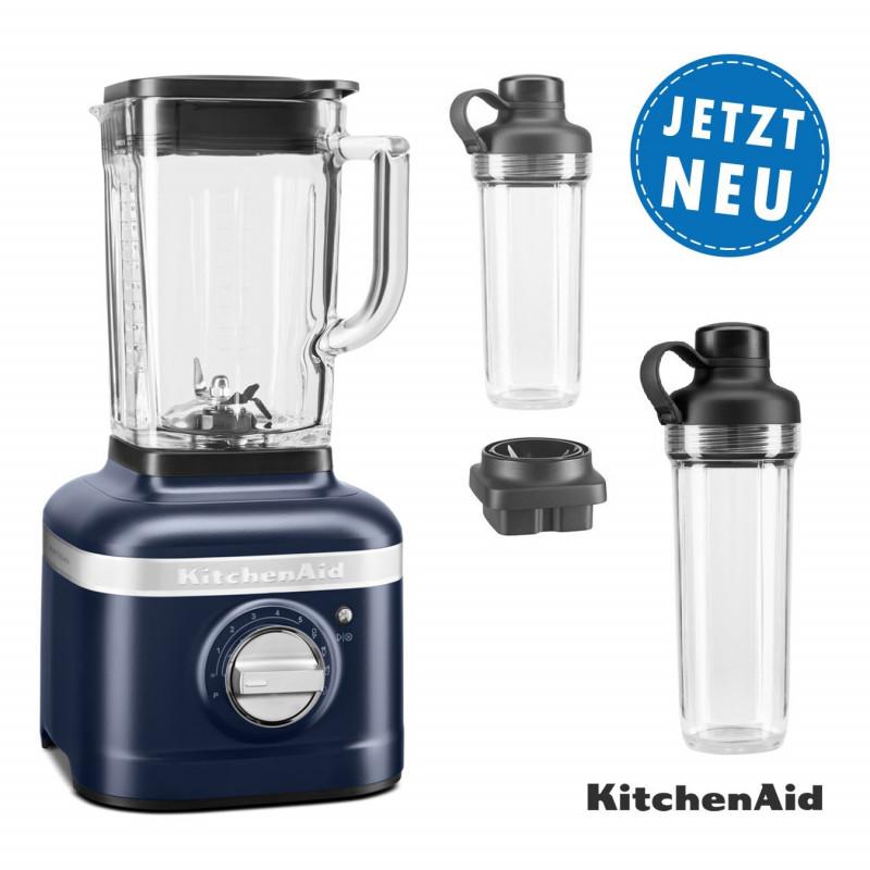 KitchenAid ARTISAN K400 Standmixer 5KSB4026 alle Farben mit 2xTo-Go-Behälter und Klingen