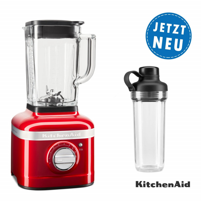 KitchenAid ARTISAN K400 Standmixer 5KSB4026ECA liebesapfelrot Set3