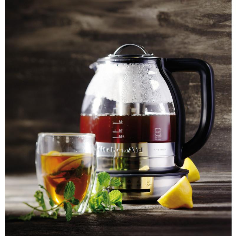 KitchenAid ARTISAN-Teekocher mit 1,5-Liter-Glaskanne