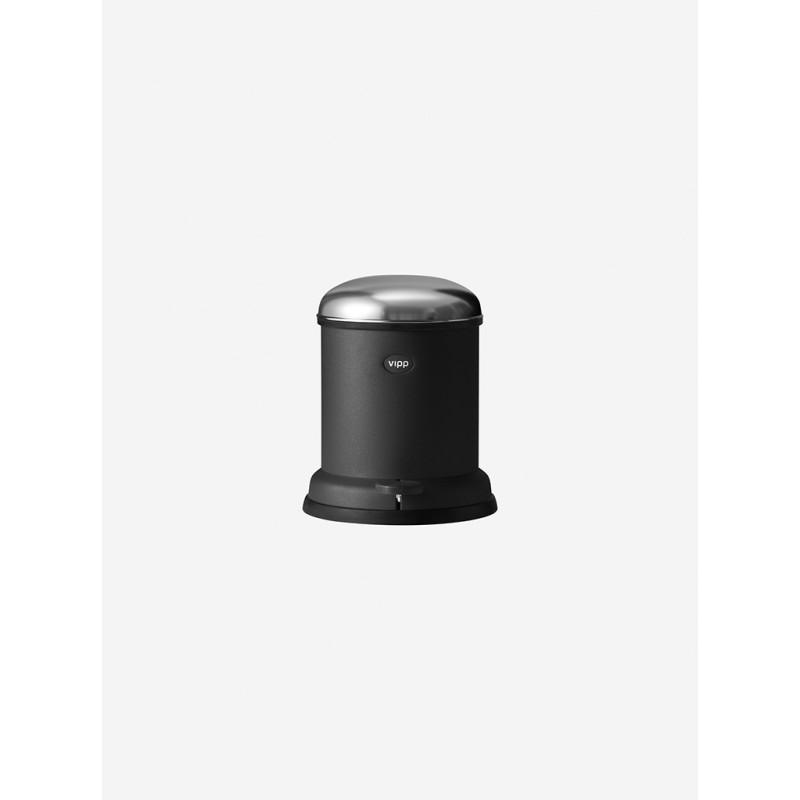 vipp Treteimer 4 Liter black VIPP13, 01304, 5705953130402