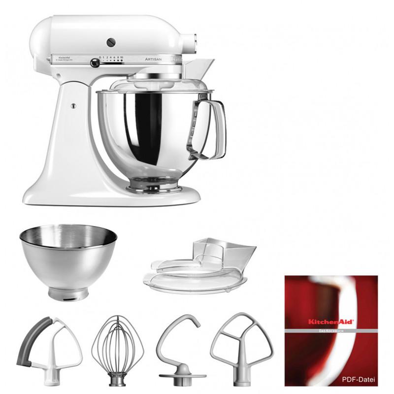 KitchenAid Artisan Küchenmaschine 175PS weiss 4,8 Liter