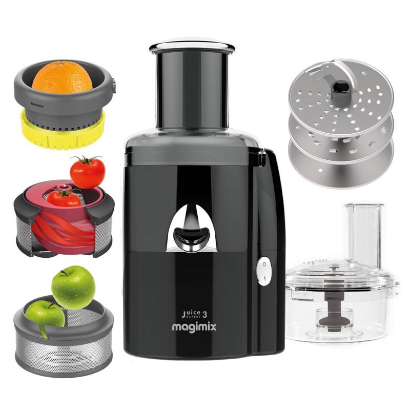 Magimix Juice Expert 3 schwarz inkl. Gemüseschneider gratis