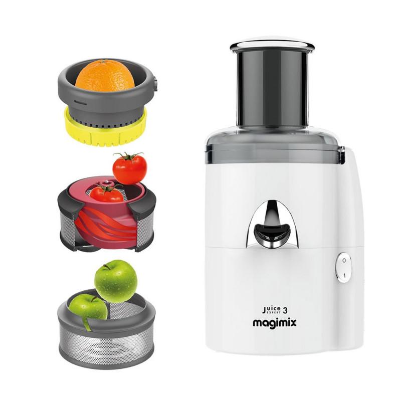 Magimix Juice Expert 3 Entsafter weiß