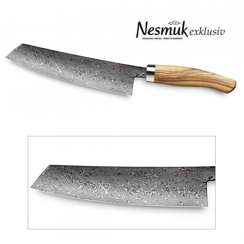 Nesmuk Exklusiv C90 Kochmesser 180-mm Kline mit Griff aus Olivenholz