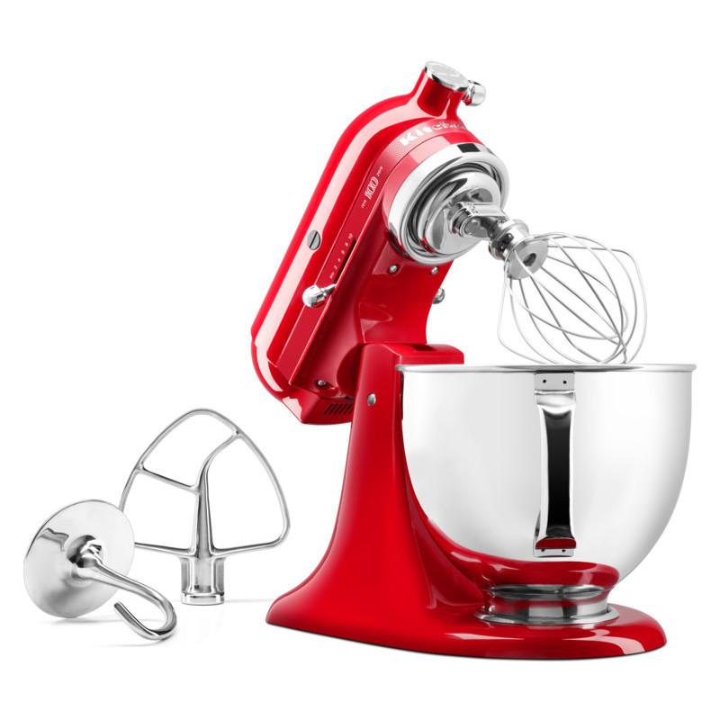 KitchenAid Küchenmaschine 5KSM180HESD Signature red 100Jahre Edition