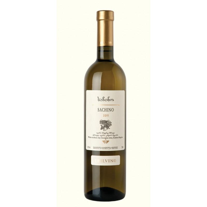 Tbilvino Sachino, halbtrockener Weißwein 0,75l Georgien