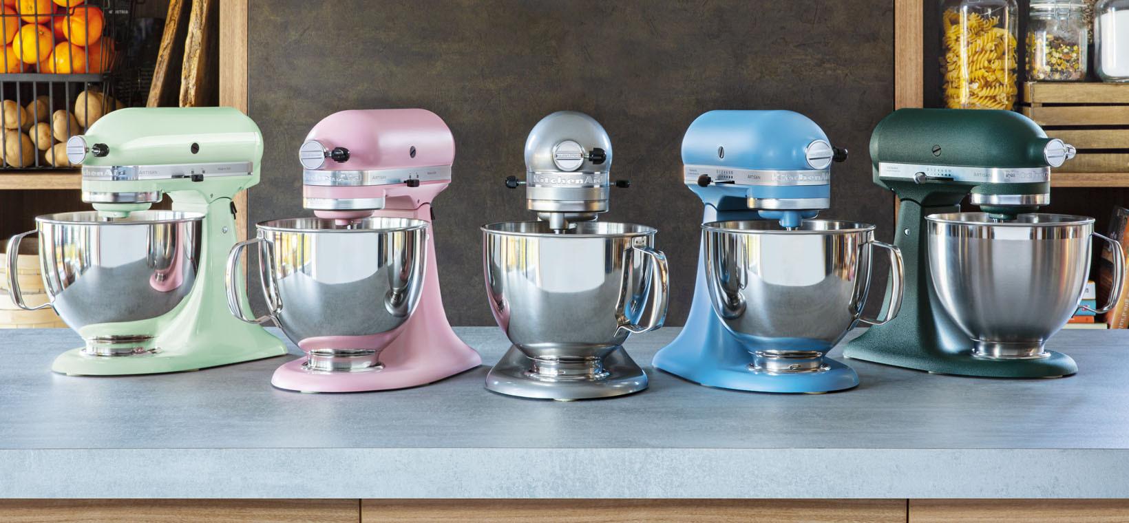KitchenAid Küchenmaschine 185PS Mega-Paket versch. Farben