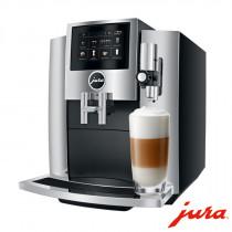 JURA Kaffeevollautomat S8 Chrom (Modell 2018) neuwertig