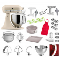KitchenAid Küchenmaschine 175PS Mega-Paket Fresh Linen