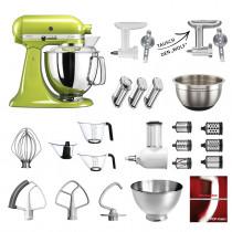 KitchenAid Küchenmaschine 175PS Mega-Paket apfelgrün