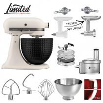 KitchenAid Küchenmaschine 180CBELD Foodprocessor Set LIGHT & SHADOW