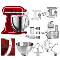 KitchenAid Küchenmaschine 5KSM185PSECA - mit Zubehör - UPGRADE möglich