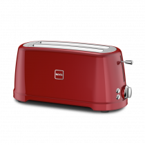 NOVIS Toaster T2 schwarz, 6116.02.20, 7640128133988, rot