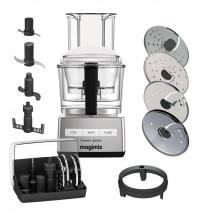 Magimix Compact 3200 XL chrom matt Küchenmaschine + opt. Zubehör