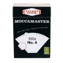 Moccamaster Kaffeefilter No. 4, 850224, 8712072850224