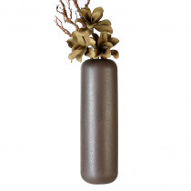 Casablanca Vase Urban dunkel braun, Keramik H. 56 cm