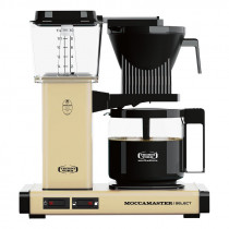 Moccamaster Kaffeemaschine KBG Select Pastellgelb, 53977, 8712072539778