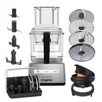 Magimix Küchenmaschine Cuisine Système 5200XL chrom matt + opt. Zubehör