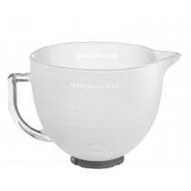 KitchenAid Milch-Glasschüssel mit Deckel