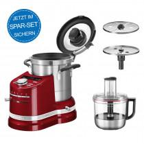 KitchenAid Artisan Cook Processor Liebesapfelrot 5KCF0104ECA/4 im Set
