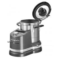 KitchenAid Artisan Cook Processor 5KCF0104EMS/4 silber neues Modell Kochbuch gratis