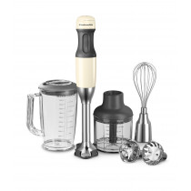 KitchenAid Stabmixer-Set mandel/creme