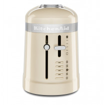KitchenAid Loft 2-Slice Design 1-Langschlitz-Toaster mandel/creme
