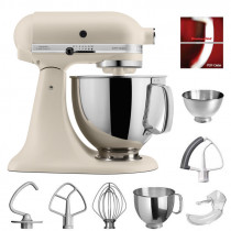 KitchenAid Artisan Küchenmaschine 175PS Fresh Linen matt 4,8 Liter