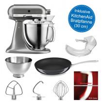 KitchenAid Küchenmaschine 5KSM185PSEMS mit Pfanne im Wert von 85 €