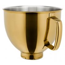 KitchenAid Edelstahlschüssel 4,8l für KitchenAid Artisan 5KSM5SSBRG Golden Nectar