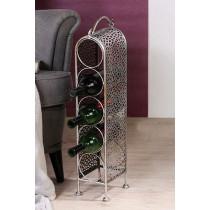 """Casablanca Weinflaschenständer """"Purley"""" für 5 Weinflaschen"""