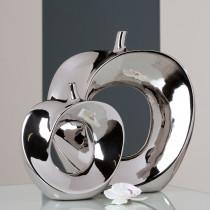 Casablanca Vase Apple aus Keramik 23 x 26 cm