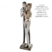 Casablanca Skulptur Modern Couple Poly, stehend