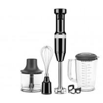 KitchenAid Stabmixer-Set Onyxschwarz, Stabmixer, Pürierstab KitchenAid, 8003437619564, 5KHBV83