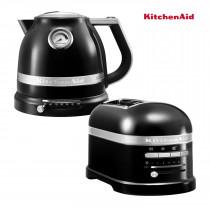 KitchenAid Artisan Wasserkocher + Toaster Onyx Schwarz