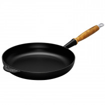 Le Creuset Bratpfanne mit Holzgriff 28 cm schwarz