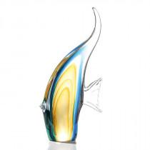 """Casablanca Skulptur """"Fisch"""" aus Glas - mehrfarbig"""