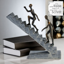 "Casablanca Skulptur ""Staircase"" Poly, bronze finish"